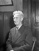 Ballinasloe Tinker Housing Story - Mr James Riddell, Member of Urban Council.28/01/1957