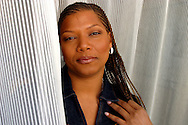 Actress and musician Queen Latifah portrat session in 2003