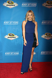Olivia Holt attending the 2016 NASCAR Sprint Cup Series Awards