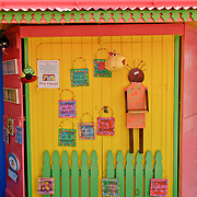 The Pink Papaya, a souvenire store in Cruz Bay, St. John