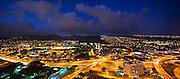 University of Hawaii, Twilight, Manoa Valley, Honolulu, Oahu, Hawaii