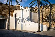Palma de Mallorca, Mallorca, Els Arcs, external space in urban landscape of Es Baluard, museum of modern and contemporary art