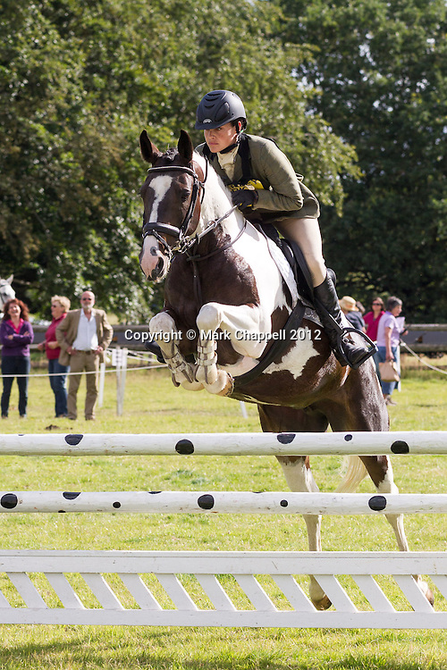 Somerley Park organised their second One Day  Event of the year at very short notice (three weeks) following the cancellation of Wilton HT due to poor ground conditions. Ringwood, UNITED KINGDOM. July 28 2012..<br /> Photo Credit: Mark Chappell<br /> © Mark Chappell 2012. All Rights Reserved. See instructions.