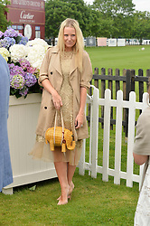 ALICE NAYLOR-LEYLAND at the Cartier Queen's Cup Polo final at Guard's Polo Club, Smiths Lawn, Windsor Great Park, Egham, Surrey on 14th June 2015