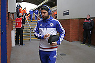 Cesc Fabregas of Chelsea arrives at Selhurst Park before k/o. Barclays Premier League match, Crystal Palace v Chelsea at Selhurst Park in London on Sunday 3rd Jan 2016. pic by John Patrick Fletcher, Andrew Orchard sports photography.