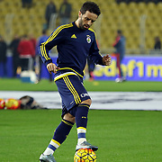 Fenerbahce's Volkan Sen during their Turkish super league soccer match Fenerbahce between Medicana Sivasspor at the Sukru Saracaoglu stadium in Istanbul Turkey on Monday 28 December 2015. Photo by Kurtulus YILMAZ/TURKPIX