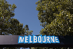 11.03.2015, Albert Park Circuit, Melbourne, AUS, FIA, Formel 1, Grand Prix von Australien, Vorberichte, im Bild Melbourne sign // during Preparations for the FIA Formula One Grand Prix of Australia at the Albert Park Circuit in Melbourne, Australia on 2015/03/11. EXPA Pictures © 2015, PhotoCredit: EXPA/ Sutton Images/ Mark Images<br /> <br /> *****ATTENTION - for AUT, SLO, CRO, SRB, BIH, MAZ only*****