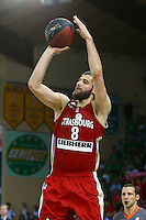 Antoine Diot  - 20.06.2015 - Limoges / Strasbourg - Finale Pro A<br /> Photo : Manuel Blondeau / Icon Sport