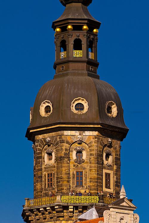 Hausmann Tower, Dresden, Saxony, Germany