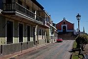 View of the Convento de Porta Coeli built in 1609 by the Dominican Order in San German Puerto Rico