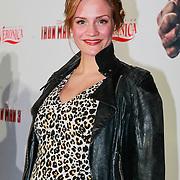 NLD/Amsterdam/20130423 - Premiere Iron Man 3, zwangere Michelle Splietelhof