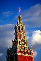 Savior Tower, Red Square (next to St. Basil's Cathedral), Moscow, Russia