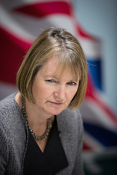© Licensed to London News Pictures . 27/01/2014 . Manchester , UK . The Deputy Leader of the Labour Party , HARRIET HARMAN at the launch of Mike Kane's campaign for the Wythenshawe East and Sale by-election at the Woodhouse Park Lifestyle Centre in Wythenshawe , today (27th January 2014) . Photo credit : Joel Goodman/LNP