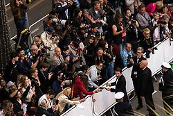 May 20, 2019 - Cannes, France - 72eme Festival International du Film de Cannes. Montée des marches du film ''La Belle Epoque'' depuis la terrasse du palais. 72th International Cannes Film Festival. Red Carpet for ''La Belle Epoque'' movie from the rooftop....239578 2019-05-20  Cannes France.. Bedos, Nicolas (Credit Image: © Terence Baelen/Starface via ZUMA Press)