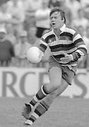 Bath, West Somerset. Great Britain.  <br /> <br /> Bath Rugby vs Harlequins, The Recreation Ground [Rec]. 10.09.1988.<br /> <br /> [Mandatory Credit, Peter Spurrier/ Intersport Images].