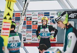 31.12.2019, Olympiaschanze, Garmisch Partenkirchen, GER, FIS Weltcup Skisprung, Vierschanzentournee, Garmisch Partenkirchen, Qualifikation, im Bild Evgeniy Klimov (RUS) // Evgeniy Klimov of Russian Federation during the Four Hills Tournament of FIS Ski Jumping World Cup at the Olympiaschanze in Garmisch Partenkirchen, Germany on 2019/12/31. EXPA Pictures © 2019, PhotoCredit: EXPA/ JFK