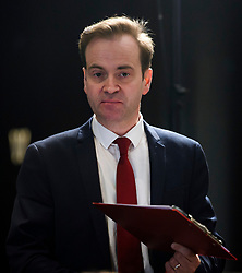 © Licensed to London News Pictures. 09/04/2018. London, UK. DAVID PRESCOTT, advisor to Jeremy Corbyn, attends the launch event for the Labour Party local election campaign launch in central London.  Labour are expected to make gains in the capital, potentially taking traditionally Conservative strongholds. Photo credit: Ben Cawthra/LNP