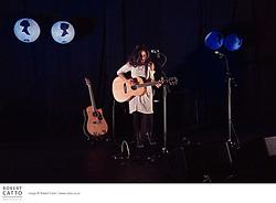 Anna Coddington and Julia Deans perform at the Paramount Theatre, Wellington as part of their Keepsakes tour.