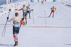 28.02.2021, Oberstdorf, GER, FIS Weltmeisterschaften Ski Nordisch, Oberstdorf 2021, Herren, Langlauf, Teamsprint, Freestyle, im Bild Johannes Hoesflot Klaebo (NOR) // Johannes Hoesflot Klaebo of Norway during men Cross Country team sprint freestyle competition of the FIS Nordic Ski World Championships 2021 in Oberstdorf, Germany on 2021/02/28. EXPA Pictures © 2021, PhotoCredit: EXPA/ Dominik Angerer