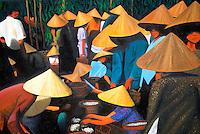 Vietnam. Hanoi. Peinture d'un artiste local. // Vietnam. Hanoi. Painting from local artist.