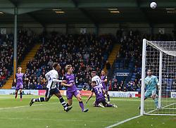 Nicky Maynard of Bury blazes a shot high over the crossbar - Mandatory by-line: JMP - 04/05/2019 - FOOTBALL - Gigg Lane - Bury, England - Bury v Port Vale - Sky Bet League Two