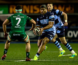 Nick Williams of Cardiff Blues<br /> <br /> Photographer Simon King/Replay Images<br /> <br /> Guinness PRO14 Round 14 - Cardiff Blues v Connacht - Saturday 26th January 2019 - Cardiff Arms Park - Cardiff<br /> <br /> World Copyright © Replay Images . All rights reserved. info@replayimages.co.uk - http://replayimages.co.uk