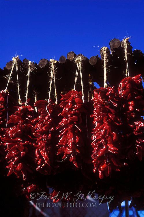 Chile Ristras #5A, Santa Fe, New Mexico