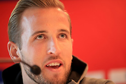 England's Harry Kane during the press conference at The Grove Hotel, Hertfordshire.