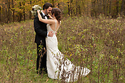 Youngstown Boardman bride and groom at Mill Creek Park by Tallmadge wedding photographer, Akron wedding photographer Mara Robinson Photography