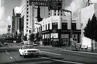 1971 Looking east at Hollywood Blvd. & Argyle Ave.