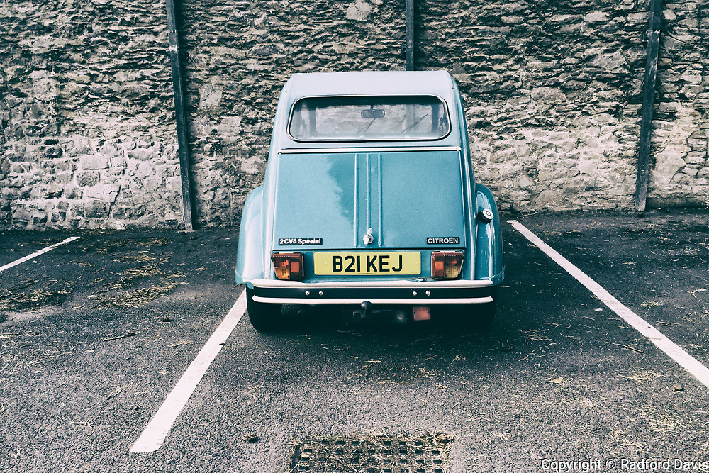 Old car, England