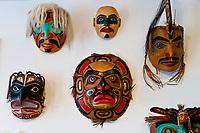Northwest Coast native art, Crazy Wolf Studio, Ketchikan, Southeast Alaska, USA