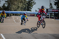 #22 (SMULDERS Merel) NED at Round 10 of the 2019 UCI BMX Supercross World Cup in Santiago del Estero, Argentina