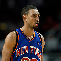17 December 2009: New York Knicks Jared Jeffries is seen during the Chicago Bulls 98-89 victory over the New York Knicks at the United Center, in Chicago, Illinois, USA.