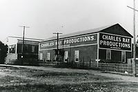 1920 Charles Ray Productions Studio