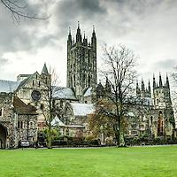 canterbury cathedral. Canterbury, Kent, UK