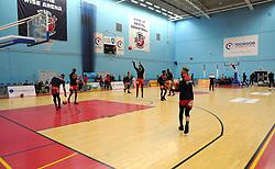 SGS Wise Arena - Photo mandatory by-line: Nizaam Jones/JMP - 19/10/2019 - BASKETBALL - SGS Wise Arena - Bristol, England - Bristol Flyers v London Lions - British Basketball League Cup