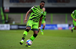 Jamille Matt of Forest Green Rovers pushes forward with the ball- Mandatory by-line: Nizaam Jones/JMP - 16/01/2021 - FOOTBALL - innocent New Lawn Stadium - Nailsworth, England - Forest Green Rovers v Port Vale - Sky Bet League Two