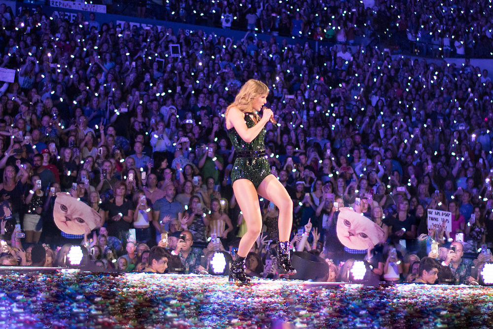 Taylor Swift brings her Reputation Stadium Tour to the Lucas Oil Stadium in Indianapolis, IN on September 15, 2018.