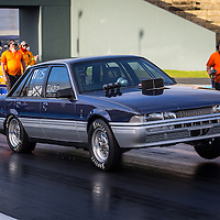 Ethan Hort (2622) driving girlfriend Jayme Smith's (4940) Super Street VL Commodore.