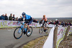 The top of the VAMberg comes into view at Drentse 8 van Westerveld 2018 - a 142 km road race on March 9, 2018, in Dwingeloo, Netherlands. (Photo by Sean Robinson/Velofocus.com)