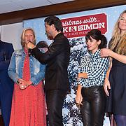 NLD/Hilversum/20130917 - Persconferentie Nick & Simon kerst cd, Nick Schilder, Barbara Dex, Simon keizer, Katie Melua en Sandra van Nieuwland