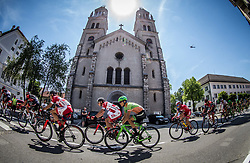 Gasper Katrasnik (SLO) of KK Adria Mobil, Gorazd Per (SLO) of KK Adria Mobil, Dennis Paulus (AUT) of Team Hrinkow Advarics Cycleang during Stage 1 of 24th Tour of Slovenia 2017 / Tour de Slovenie from Koper to Kocevje (159,4 km) cycling race on June 15, 2017 in Slovenia. Photo by Vid Ponikvar / Sportida