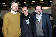 RICHARD BACON; JONATHAN YEO; BEN MILLER, Art13 London First night, Olympia Grand Hall, London. 28 February 2013