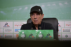 AS Saint-Etienne Press Conference - 17 May 2018