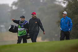 Spain's David Borda makes his way to the 7th green during his semi final match with Iceland this morning during day eleven of the 2018 European Championships at Gleneagles PGA Centenary Course. PRESS ASSOCIATION Photo. Picture date: Sunday August 12, 2018. See PA story GOLF European. Photo credit should read: Kenny Smith/PA Wire. RESTRICTIONS: Editorial use only, no commercial use without prior permission