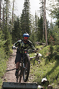 SHOT 8/5/17 11:32:46 AM - Photos while riding Brian Head Resort in Brian Head, Utah with Vesta Lingvyte of Denver, Co. Also includes images while riding the Thunder Mountain Trail in Southwestern Utah. (Photo by Marc Piscotty / © 2017)