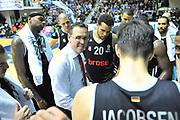 DESCRIZIONE : Eurocup 2013/14 Gr. J Dinamo Banco di Sardegna Sassari -  Brose Basket Bamberg<br /> GIOCATORE : Chris Fleming<br /> CATEGORIA : Allenatore Coach<br /> SQUADRA : Brose Basket Bamberg<br /> EVENTO : Eurocup 2013/2014<br /> GARA : Dinamo Banco di Sardegna Sassari -  Brose Basket Bamberg<br /> DATA : 19/02/2014<br /> SPORT : Pallacanestro <br /> AUTORE : Agenzia Ciamillo-Castoria / Luigi Canu<br /> Galleria : Eurocup 2013/2014<br /> Fotonotizia : Eurocup 2013/14 Gr. J Dinamo Banco di Sardegna Sassari - Brose Basket Bamberg<br /> Predefinita :