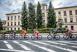 Marco Canola of Nippo Vinni Fantini Europa Ovini, Michal Schlegel of CCC Sprandl Polkowice, Andrea Vendrame of Androni Giocattoll - Sidermec, Davide Formolo of Bora Hansgrohe and Janez Brajkovic of Adria Mobil Cycling Team during 3rd Stage of 25th Tour de Slovenie 2018 cycling race between Slovenske Konjice and Celje (175,7 km), on June 15, 2018 in  Slovenia. Photo by Vid Ponikvar / Sportida