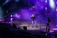 A-ha under Jugendfest 2018 på Color Line Stadion i Ålesund.